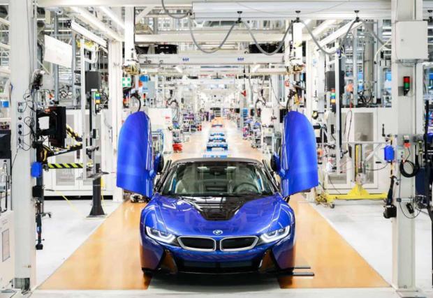 Последното произведено BMW i8