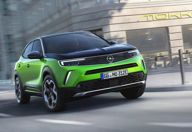 Opel засега разкрива информация само за него