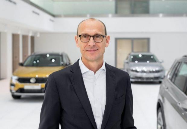 Новият изпълнителен директор на марката VW Ралф Брандщетер