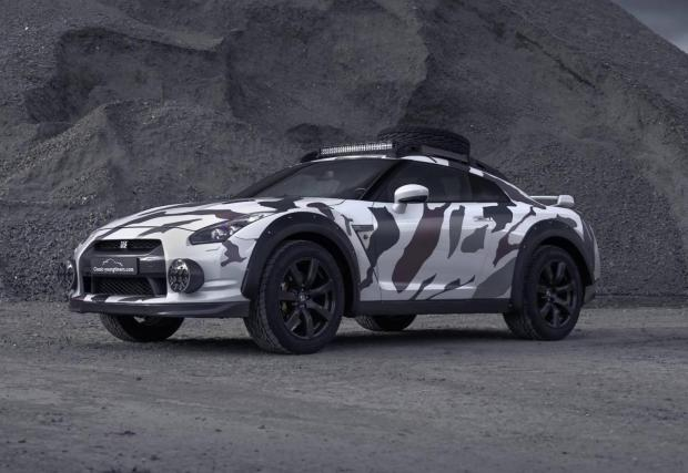 12 снимки на зебрата GT-R