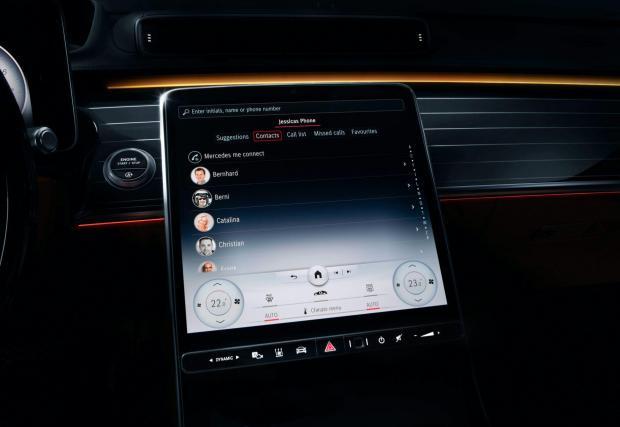 Новият голям сензорен екран е вдъхновен от Tesla