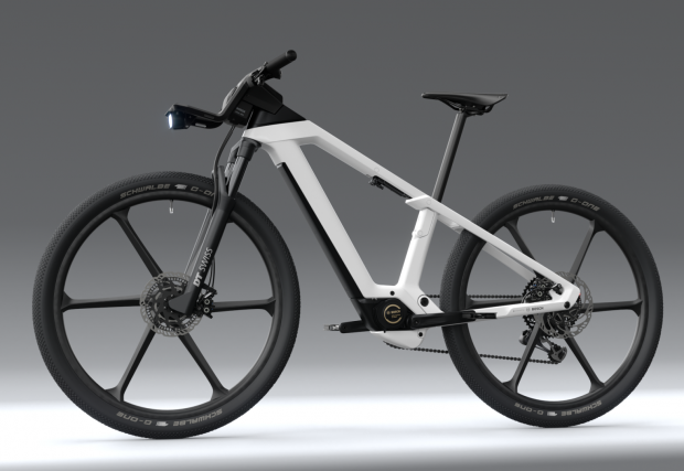 Четири снимки на колелото от бъдещето с компоненти от днешния ден