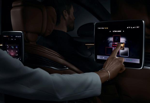 Mercedes вече показа част от интериора на S-класата