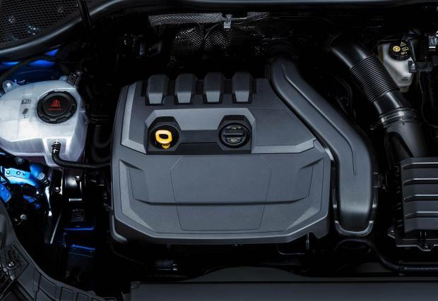 Така изглежда кората на 1,5-литровия TFSI мотор на новото Audi A3...