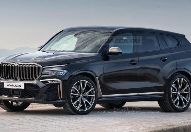 Според руските рендъри новото свръх луксозно X8 ще изглежда така