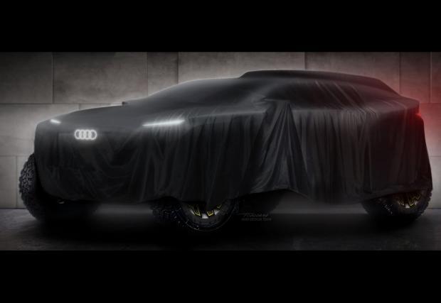 Нещо голямо и зло се крие под покривалото на Audi