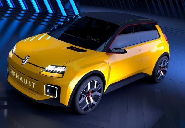 7 снимки от прототипа Renault 5