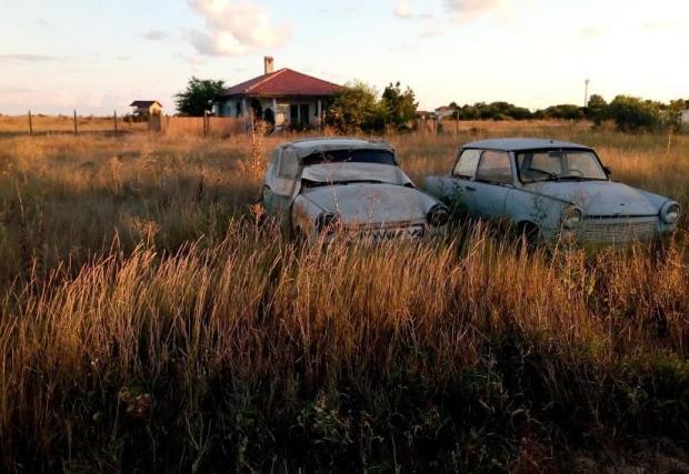 Изоставени Trabant-и има много, но тези, които са в движение, са едва 1826
