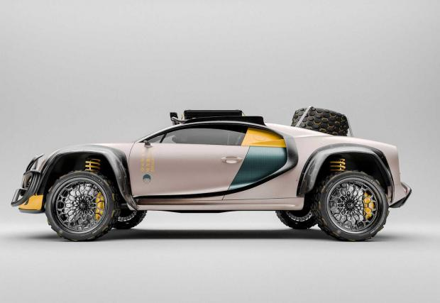 Галерия от 8 илюстрации на Bugatti Chiron Terracross