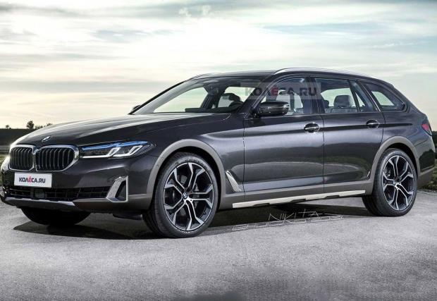 BMW засега стои встрани от модата на повдигнатите комбита