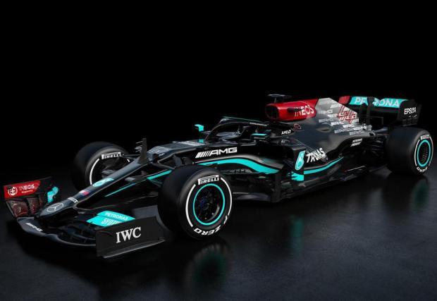 Галерия от 4 снимки на Mercedes-AMG F1 W12 E Performance