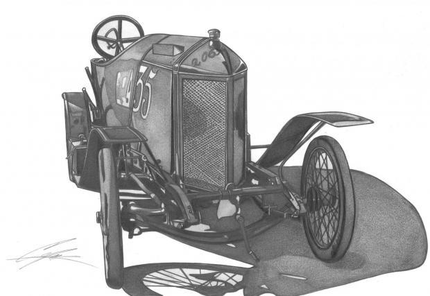Laurin & Klement Typ FCR, 1909. Произведен в два броя. Поставя рекорд за скорост в категорията с обем до шест литра от 140 км/ч. Двигателят е 4-цилиндров със 100 к.с., а буталата са стоманени с диаметър 85 мм и ход на буталото 250 мм!