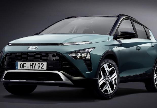 Bayon е най-малкият модел в гамата кросоувъри на Hyundai