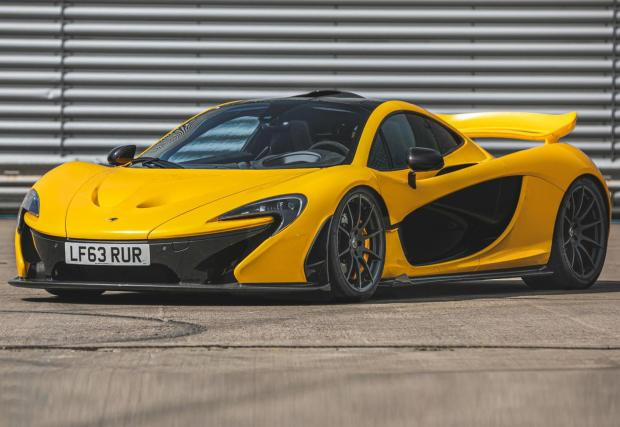 Галерия от 12 снимки на първия McLaren P1