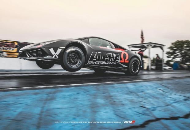 Галерия от 5 снимки на AMS Performance Alpha Omega Lamborghini Huracan
