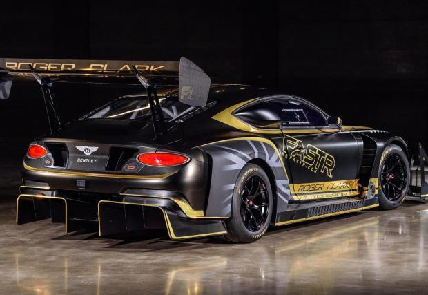 Галерия от 9 снимки на Bentley Continental GT3 Pikes Peak