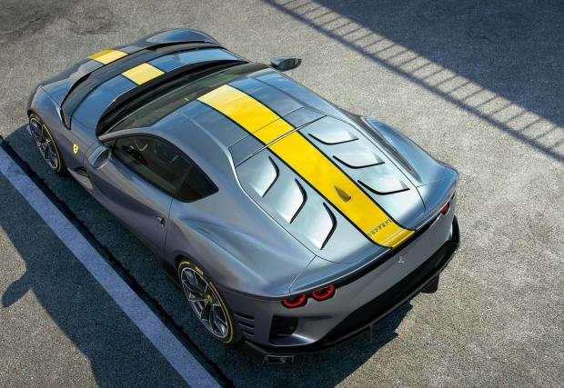 Галерия със седем снимки на изумителното Ferrari, което все още няма име