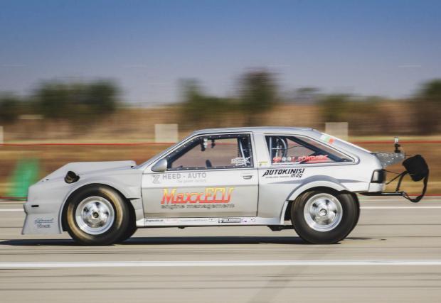 Галерия от 10 снимки на състезателното VW Scirocco на Хеед Ауто