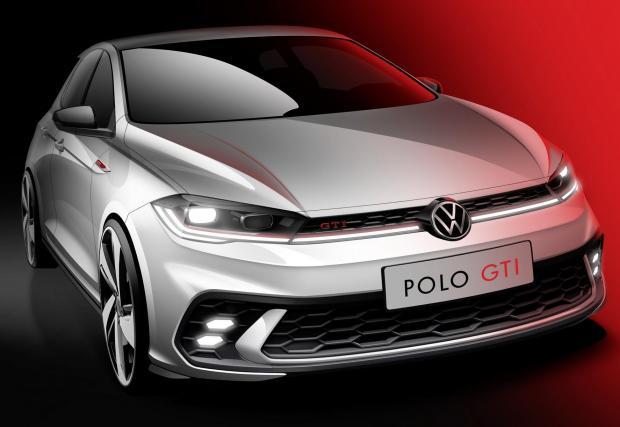 Първи рендър на обновения VW Polo GTI