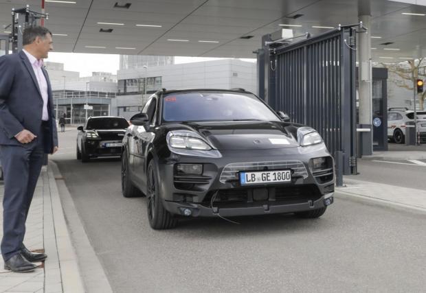 Macan ще използва новата плотфарма PPE, разработена съвместно с Audi.