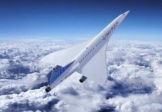 Осем рендъра на проекта за свръхзвуков пътничеки самолет