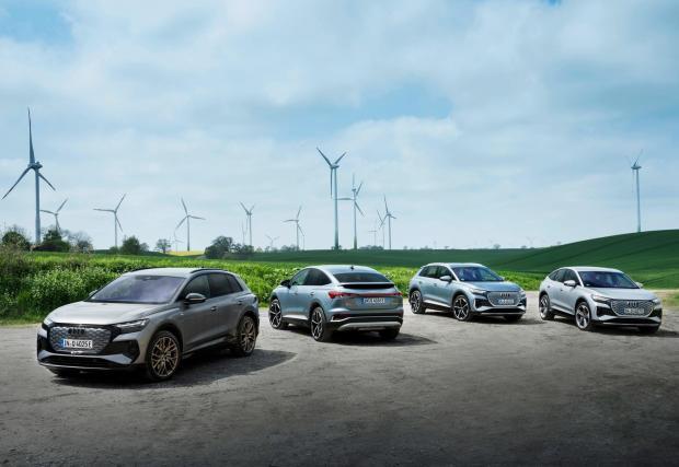 Засега електрическата гама на Audi е сравнително скромна, но до 2025 се очакват близо 20 нови модела