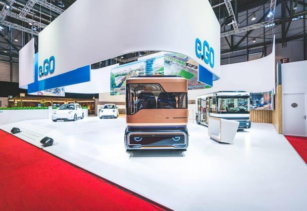 Плановете на e.GO включват производство на автономни ванове за до 15 души