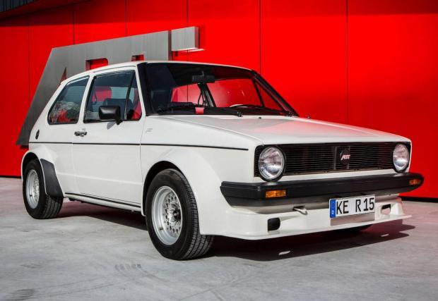 1982 VW Golg GTI Wide Body от ABT
