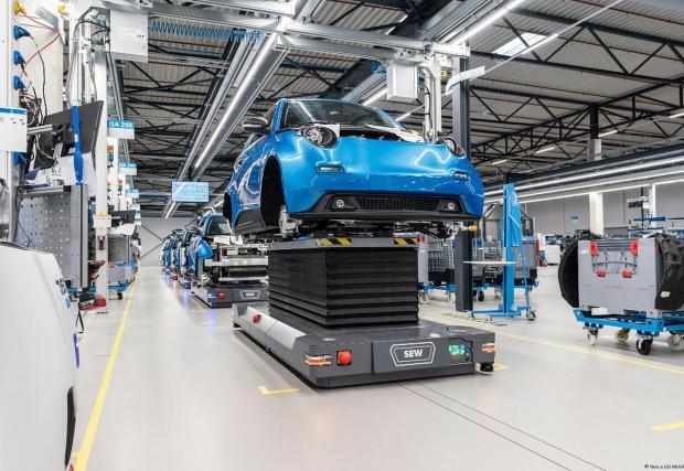 Така изглежда заводът на e.GO в Аахен, Германия