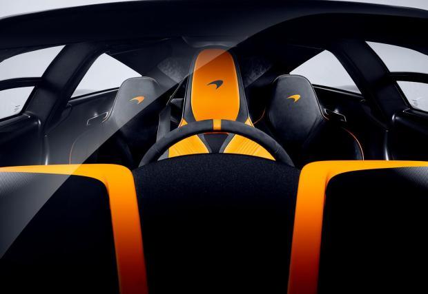 Триместната концепция, също вдъхновена от McLaren F1