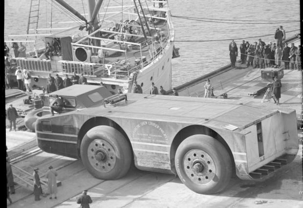 Арктическото превозно средство гори средно 118 л/100 км