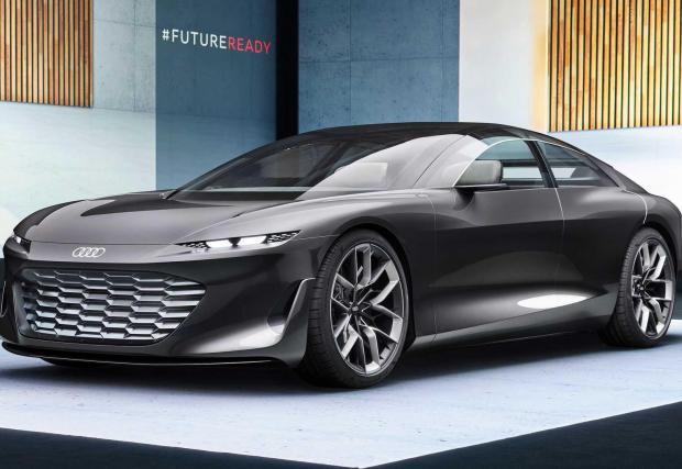 Галерия от 22 снимки на Audi Grandsphere Concept
