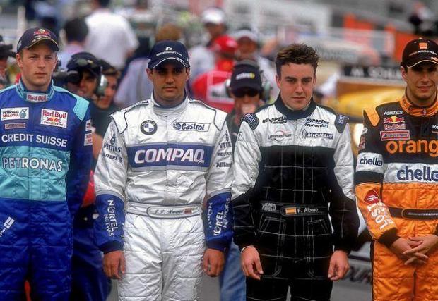 19 сезона в спорта, от 2001 до 2021. Само си помислете кои му бяха конкуренти през 2001 г. – Михаел Шумахер, Мика Хакинен, Хуан Пабло Монтоя, Еди Ървайн, Жак Вилньов… О, и някакъв испанец на име Фернандо Алонсо…