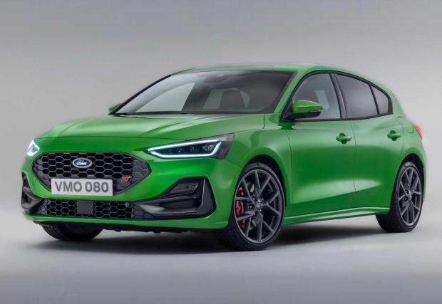 Галерия от 13 снимки с новия Ford Focus 2022