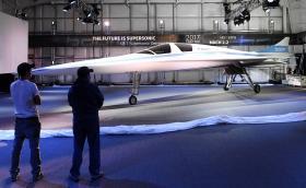 """Кажете """"здрасти"""" на 'Baby Boom', прототипът на бъдещия свръхзвуков пасажерски самолет, който ще лети с 2335 км/ч. Лондон - Ню Йорк за 3,5 часа. Галерия и инфо"""