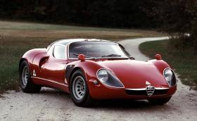 Alfa 33 Stradale стана на 50. Остава все така секси. Галерия