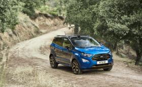 Ford EcoSport идва с нов интериор и 4х4