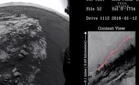 Curiosity на NASA: 5 години на Марс събрани в 3-минутно видео