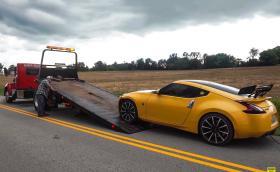 Ето така се чупи готин Nissan 370Z. Галерия и видео