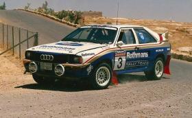 Как се сменя скоростна кутия на състезателно Audi Quattro за 15 мин през 88-ма. До тротоара по време на рали. Видео