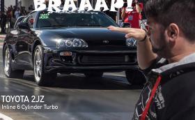 Този пич имитира Toyota Supra 2JZ брилянтно. Както и Gallardo, Evo, VTEC мотори, битурбо V10-ки, всичко. Видео