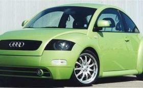 Този VW Beetle-Audi TT хибрид се продава за 7200 долара. Казват му BeeTTle