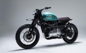 Шведски карасив британец: 6/5/4 Motors Triumph Bonneville. Галерия