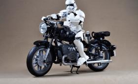 Lego BMW R60/2 е достоен да вози силите на Империята. Галерия