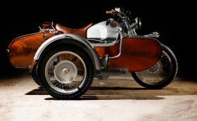 OC Garage BMW R100 GS, един от най-красивите мотоциклети с кош правени някога. Галерия