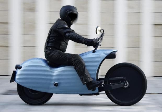 The Johammer J1 electric motorcycle e един от многото байкове с поглед в близкото бъдеще