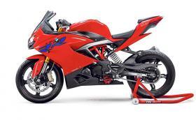 "BMW пуска ""бейби"" S 1000 RR? Моторът ще бъде базиран на TVS Apache RR 310. Видео"