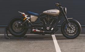 Запознаваме ви с Eleanor, която не е Mustang GT500, a 2009 Harley-Davidson 2009 FXD Dyna Super Glide