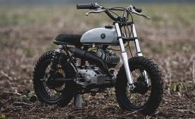 Auto Fabrica Type 0.1 е страхотно мотоциклетче. Видео и галерия