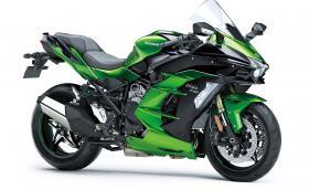 Ninja H2 SX е новият брутален спорт турист на Kawasaki. С компресор е и с 200 коня